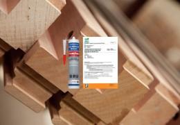 Kozijnenlijm is nu gecertificeerd voor 12 houtsoorten